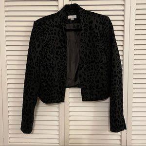 Black Leopard Calvin Klein Blazer